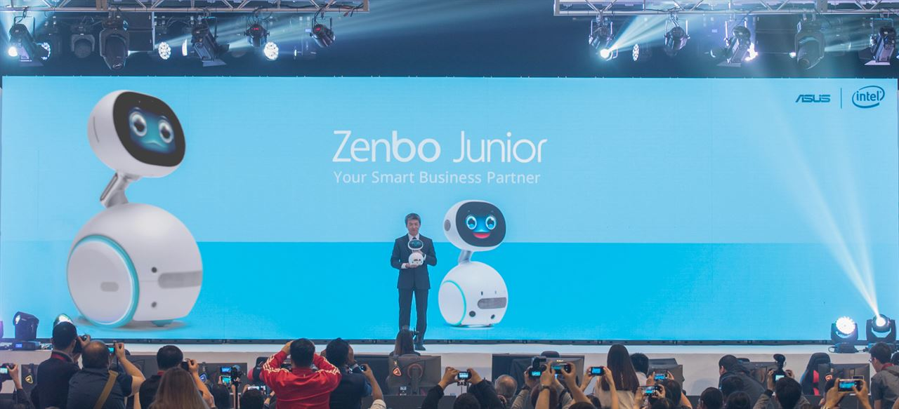 ASUS Zenbo Junior is the Ideal Robotic Solution for Learning and Business