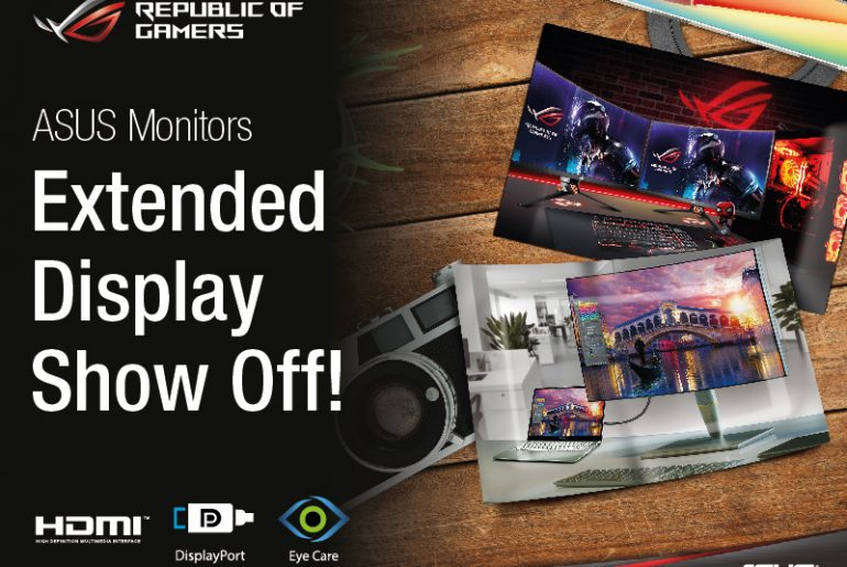 Get a Chance to Win an ASUS Laptop by Showcasing Your Extended Display!