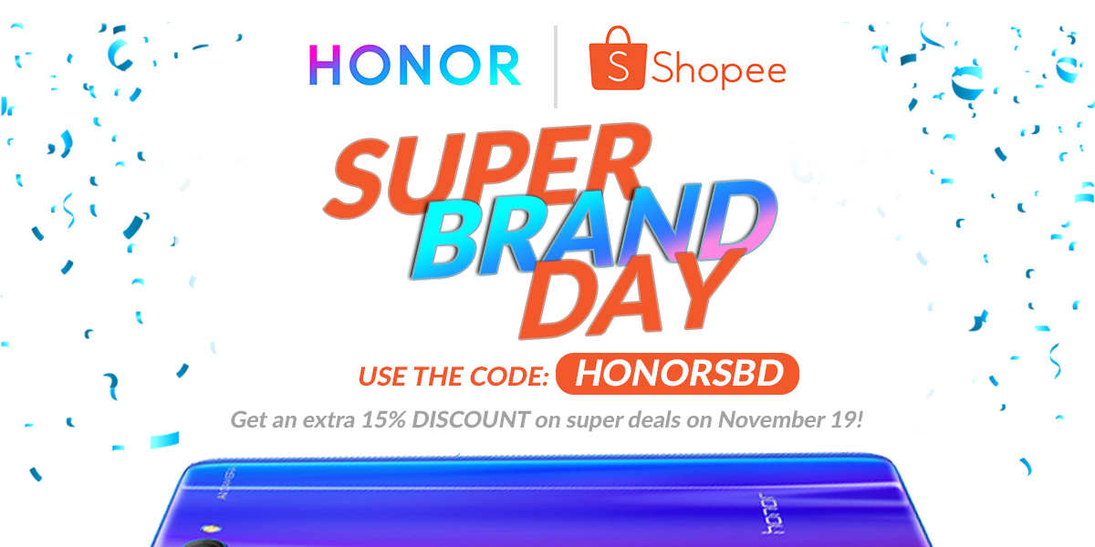Enjoy Exciting Deals on Honor Smartphones in Shopee's Super Brand Day Sale!