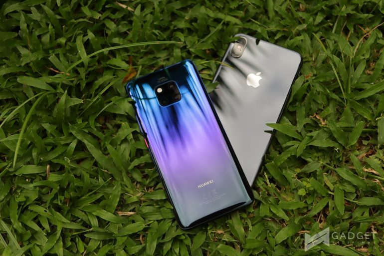 Huawei Mate 20 Pro vs iPhone XS Max: Battle of the Flagship Smartphones