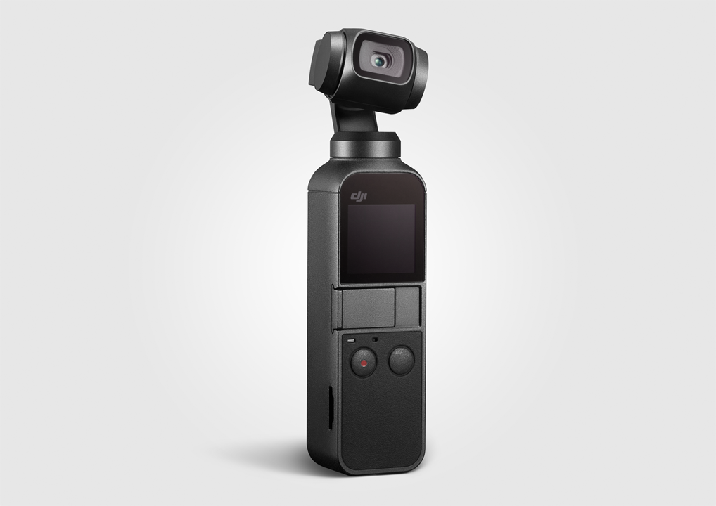 Osmo pocket heroshot 2 grey