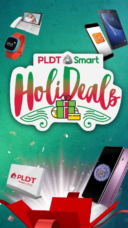 PLDT and Smart Announce 'Holideals', Their Biggest Holiday Sale!