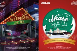 ASUS Announces Share 2018 Christmas Promo!