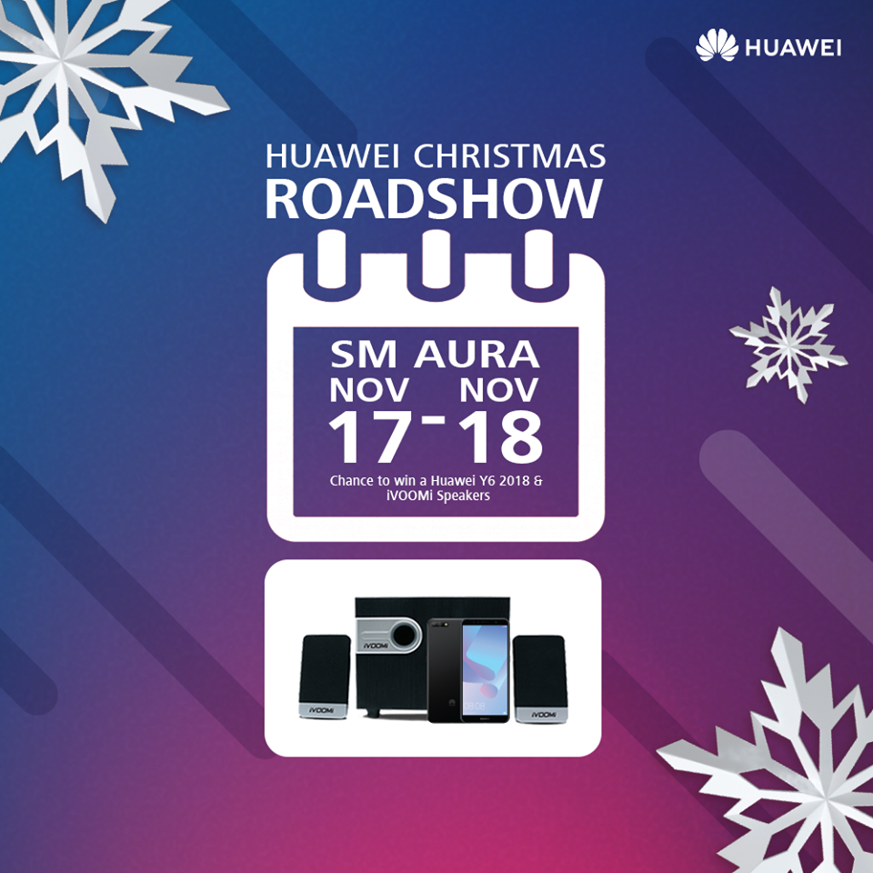 Huawei Announces its Grand Christmas Promos!