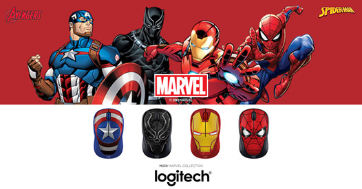 Get your Marvel game on with Logitech M238 Collection
