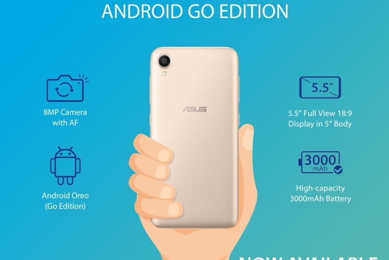 ASUS Launches ZenFone Live L1 (Android GO Edition) in PH!
