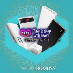 Get Up to 50% Off on Select Romoss Products in Lazada from December 10 to 12!