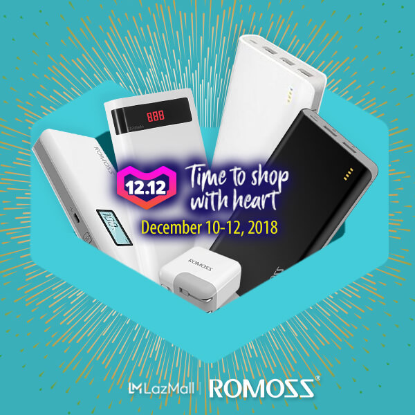 romoss lazada, Get Up to 50% Off on Select Romoss Products in Lazada from December 10 to 12!, Gadget Pilipinas