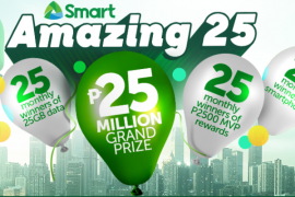 Smart Announces Amazing 25 Raffle Promo!