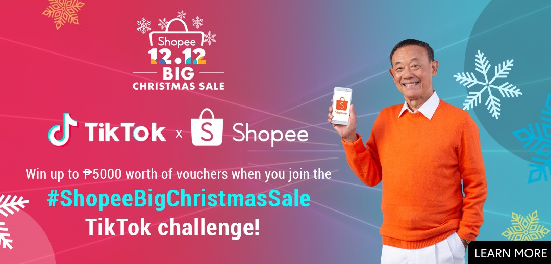 tiktok shopee, Be like Jose Mari Chan in #ShopeeChristmasSale Challenge by TikTok and Shopee, Gadget Pilipinas, Gadget Pilipinas