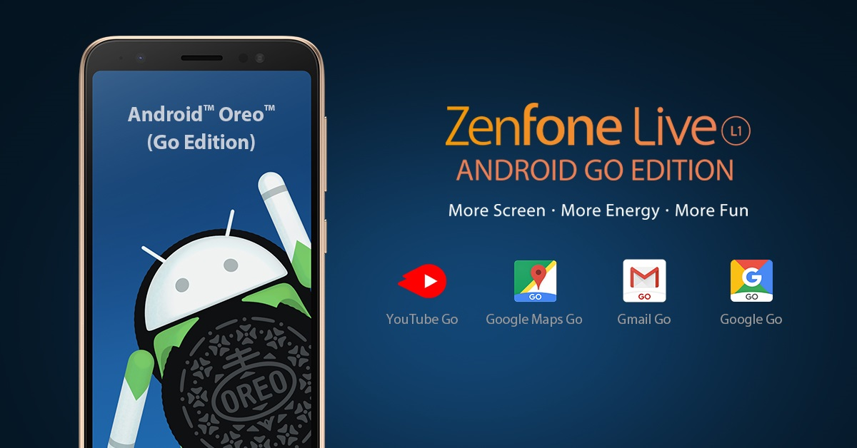 asus zenfone live l1 android go edition, ASUS Launches ZenFone Live L1 (Android GO Edition) in PH!, Gadget Pilipinas