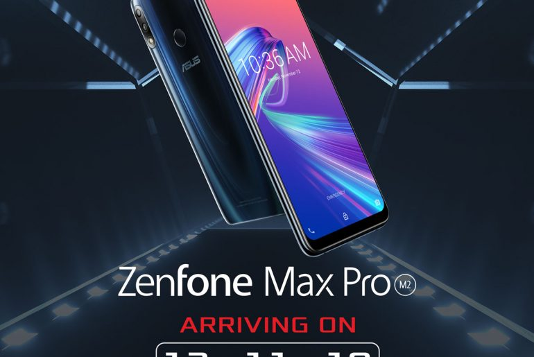 ASUS ZenFone Max Pro M2 Launching in PH on December 11!