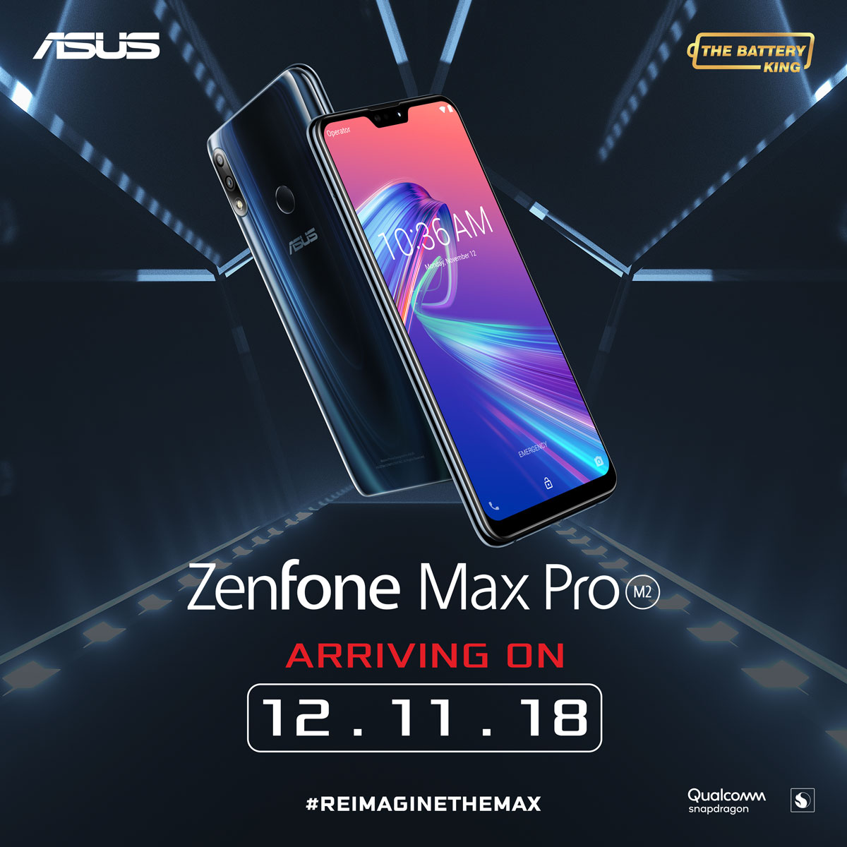 asus zenfone max pro m2, ASUS ZenFone Max Pro M2 Launching in PH on December 11!, Gadget Pilipinas, Gadget Pilipinas