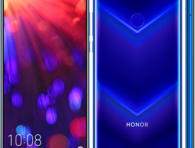 Honor V20 with 48MP Rear Camera and In-Display Front Camera Goes Official!