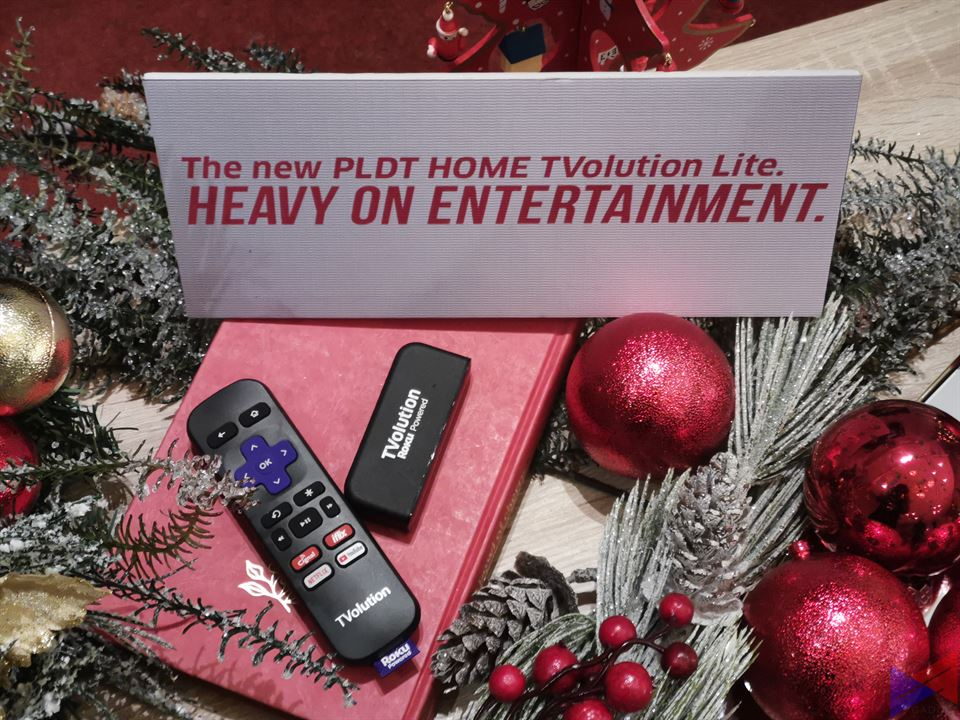 Enjoy Christmas Entertainment with the New PLDT Home TVolution Lite!