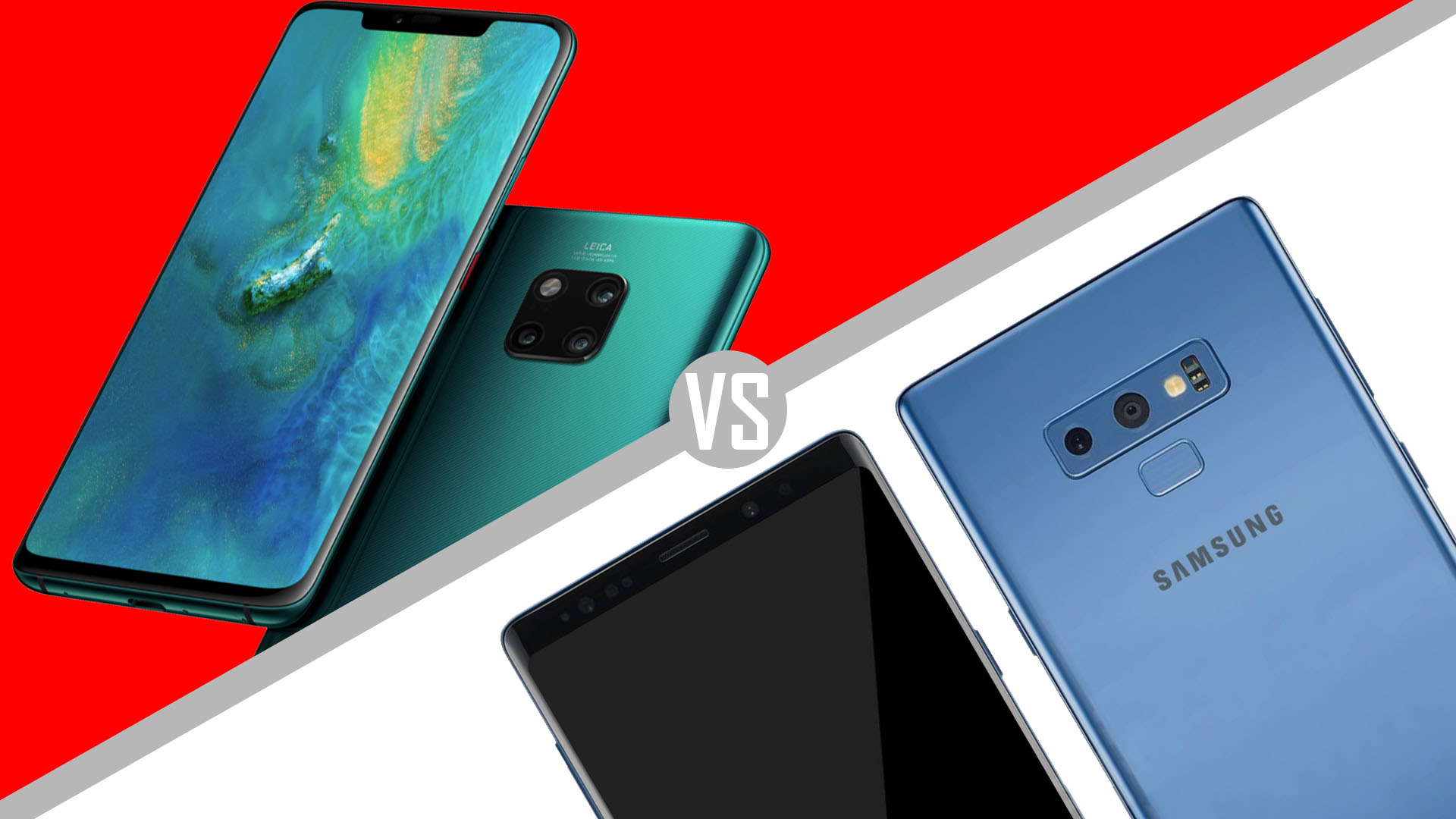 Camera Shootout: Huawei Mate 20 Pro vs Galaxy Note 9