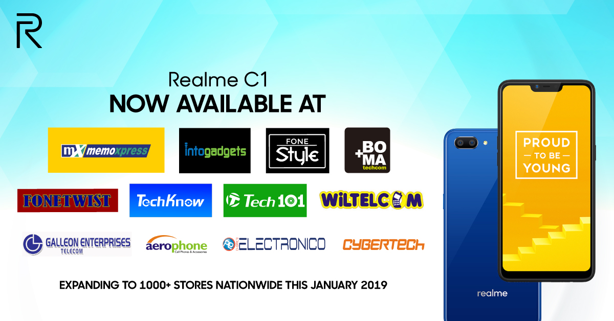 realme c1, Where to Buy Realme Products? Here's the Full List of Stores, Gadget Pilipinas