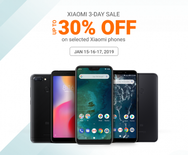 Xiaomi to hold a 3-day sale in Lazada