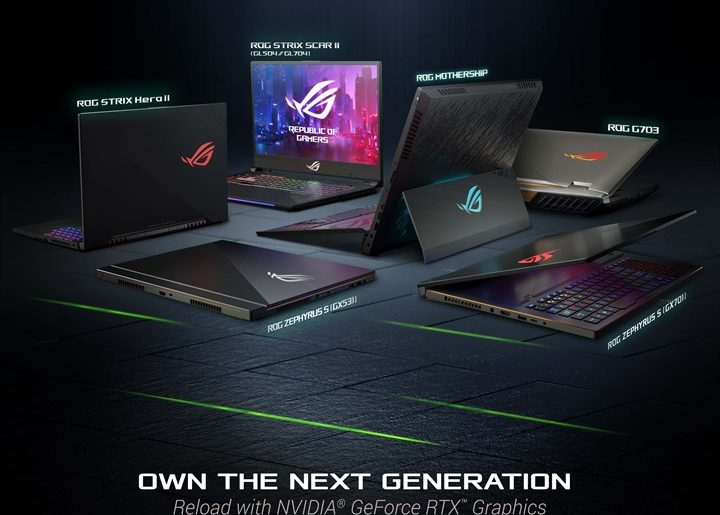 ASUS ROG launches RTX-powered laptops at CES 2019