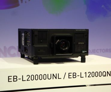 A First: Epson's 12,000 Lumen 4K 3LCD Laser Projector