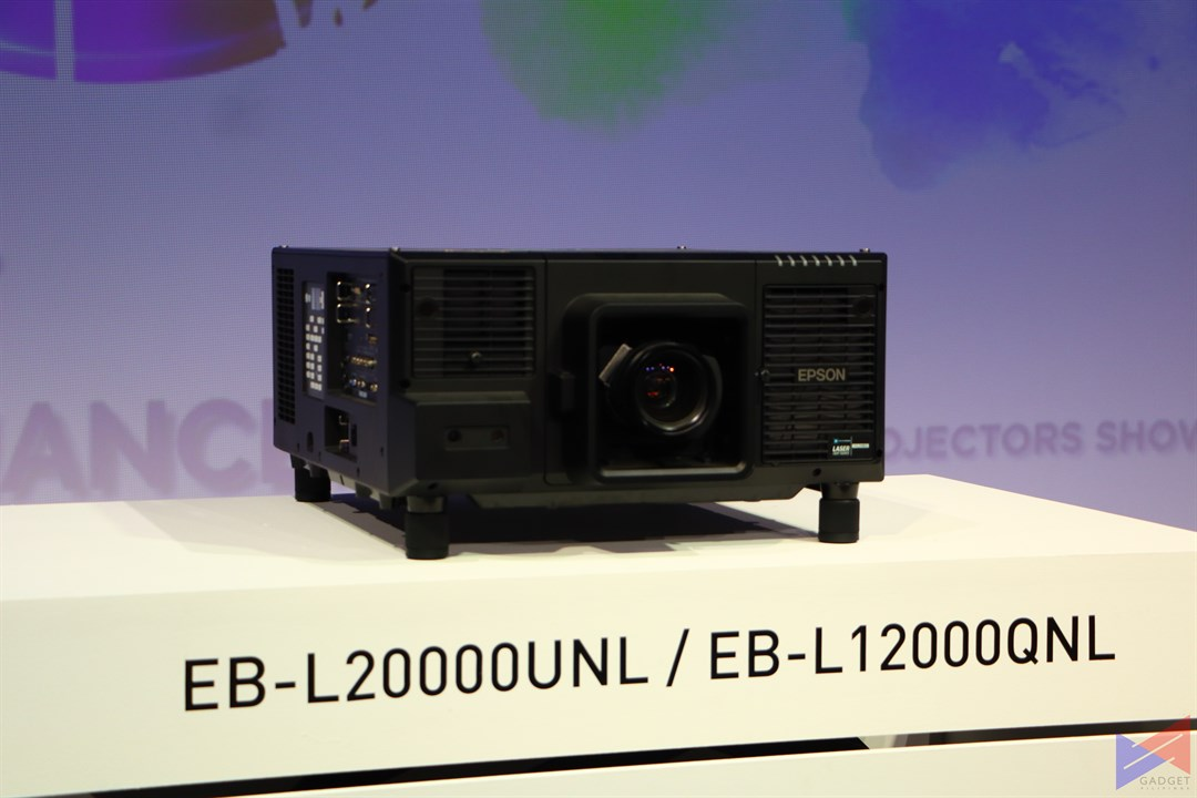 A First: Epson's 12,000 Lumen 4K 3LCD Laser Projector – Gadget Pilipinas