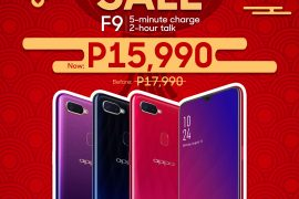The OPPO F9 will be Priced at PhP15,990 Starting January 25!