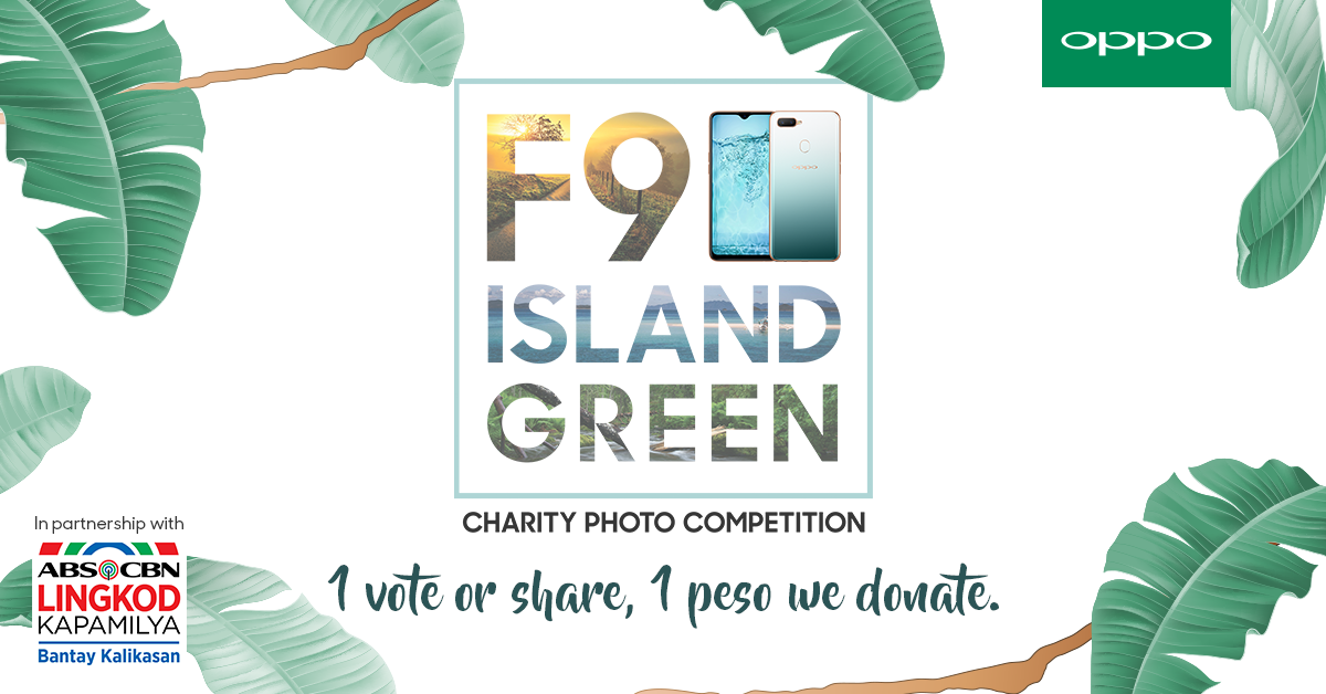 Help Save the Environment through OPPO's Photo Charity Contest!
