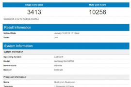 Samsung Galaxy S10+ Spotted on Geekbench