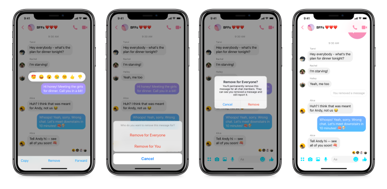 facebook unsend, Facebook Starts Global Roll Out of Unsend Button for Messenger Users, Gadget Pilipinas, Gadget Pilipinas