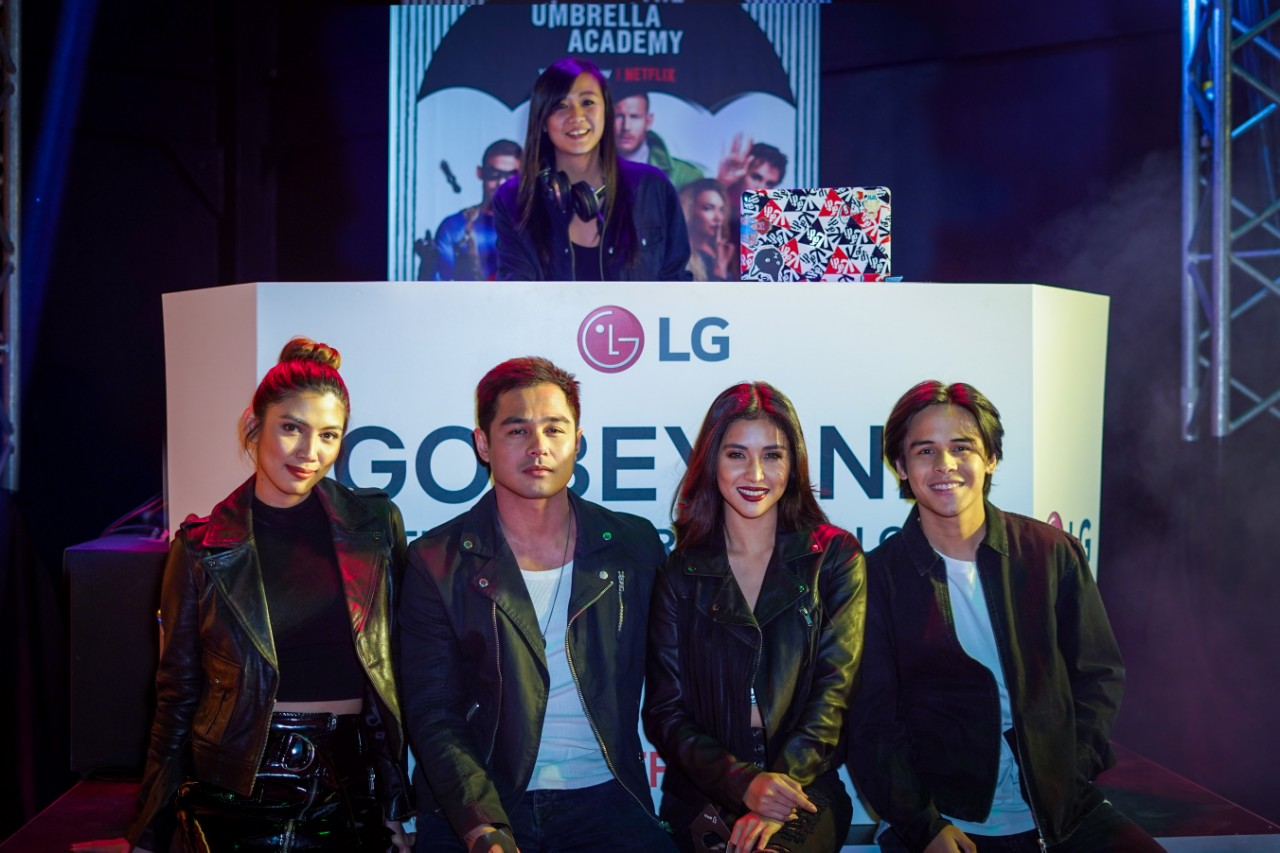 "lg netflix the umbrella chronicles, LG Partners with Netflix for the Premiere of ""The Umbrella Academy"", Gadget Pilipinas, Gadget Pilipinas"