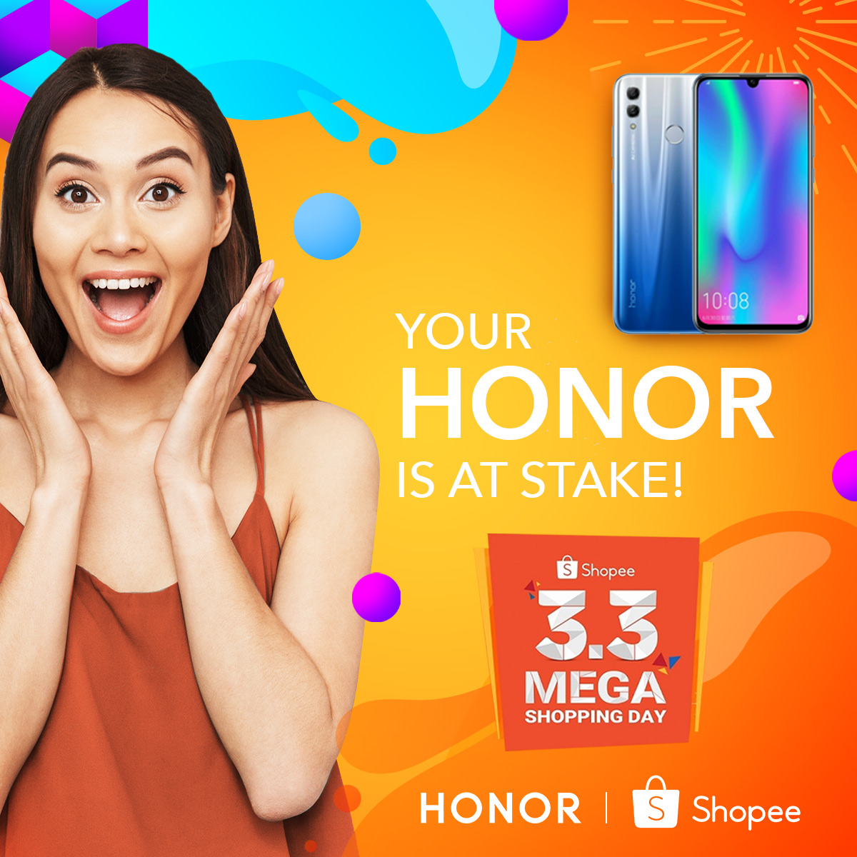 honor shopee, Enjoy Up to 20% Discount on Select Honor Smartphones at Shopee's 3.3 Mega Shopping Day!, Gadget Pilipinas