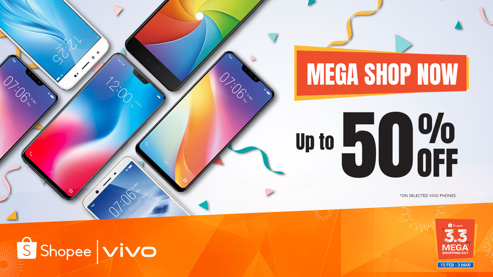 vivo shopee, Vivo offers up to 50% off for select smartphones today on Shopee!, Gadget Pilipinas, Gadget Pilipinas