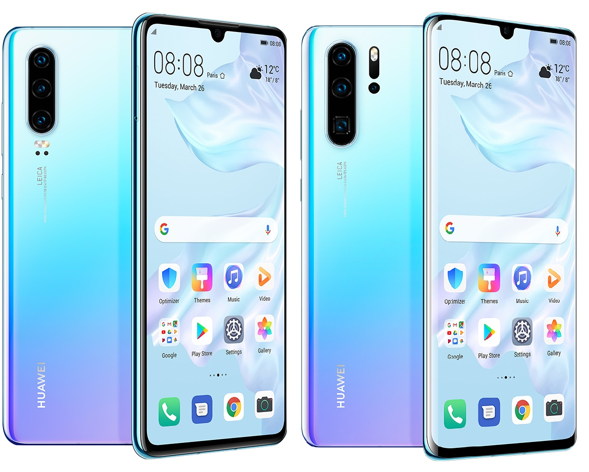 Huawei P30 and P30 Pro Debut with New Design, Improved Optics and More!