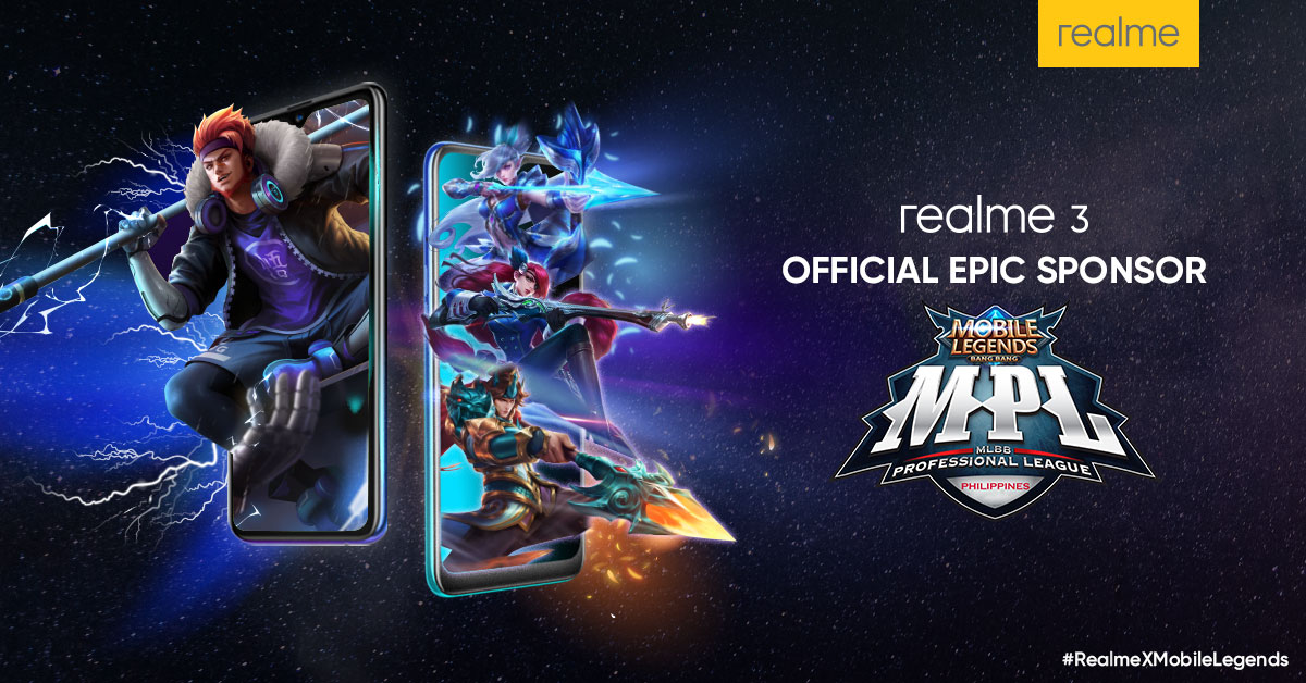 Realme is the official sponsor of the MPL – Philippines Season 3!