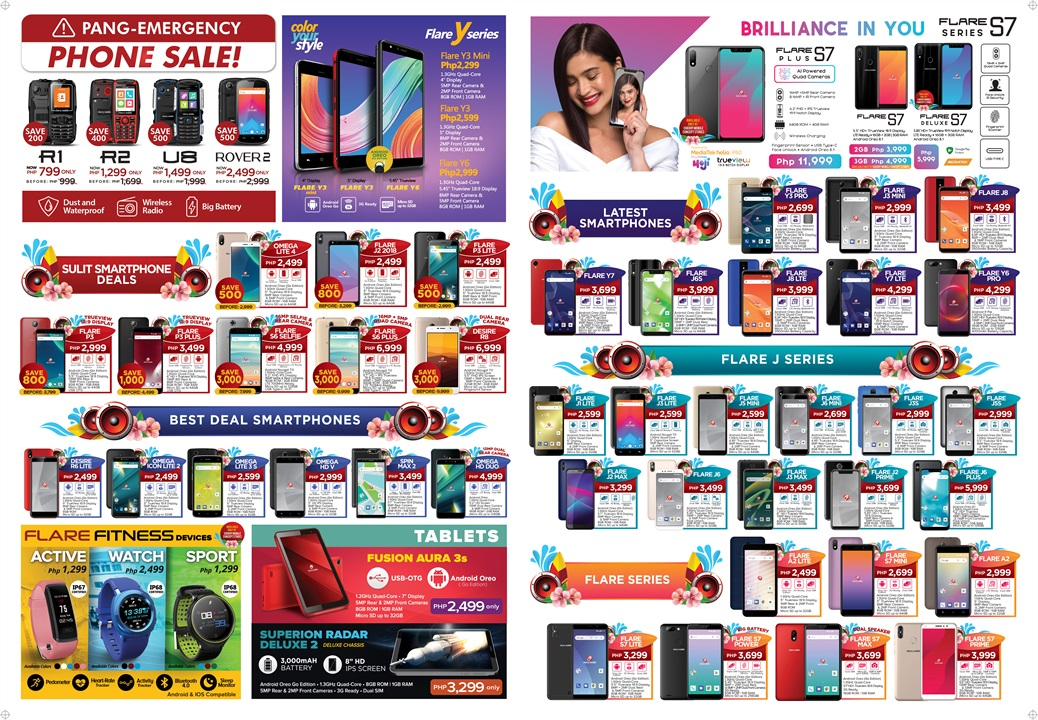 Here's the Latest Pricelist of Cherry Mobile Products