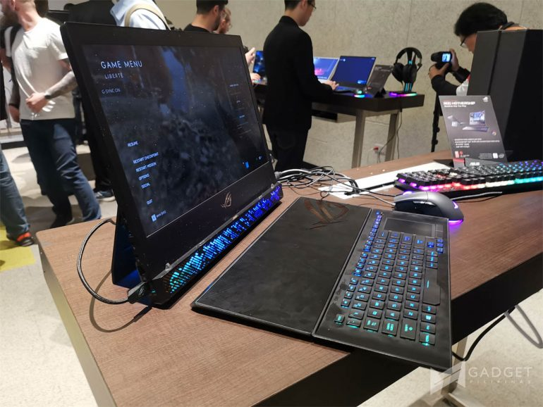 ROG Mothership, Here is the ASUS ROG Mothership in the flesh in Computex 2019, Gadget Pilipinas, Gadget Pilipinas