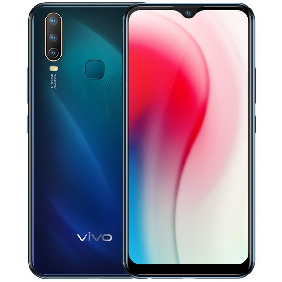 Vivo Y3 is now official with Helio P35 and triple rear cameras!