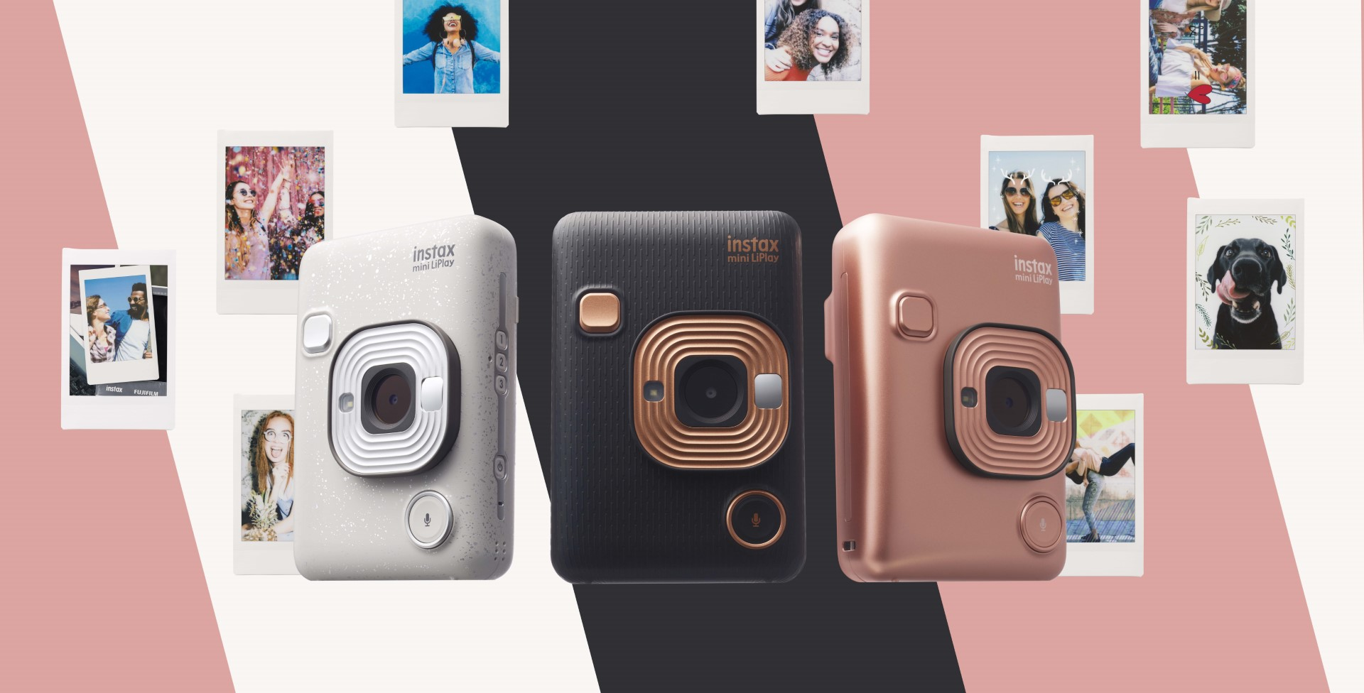 "fujifilm instax mini liplay, The FUJIFILM instax mini LiPlay Lets You ""Add"" Sound to Your Photos, Gadget Pilipinas"