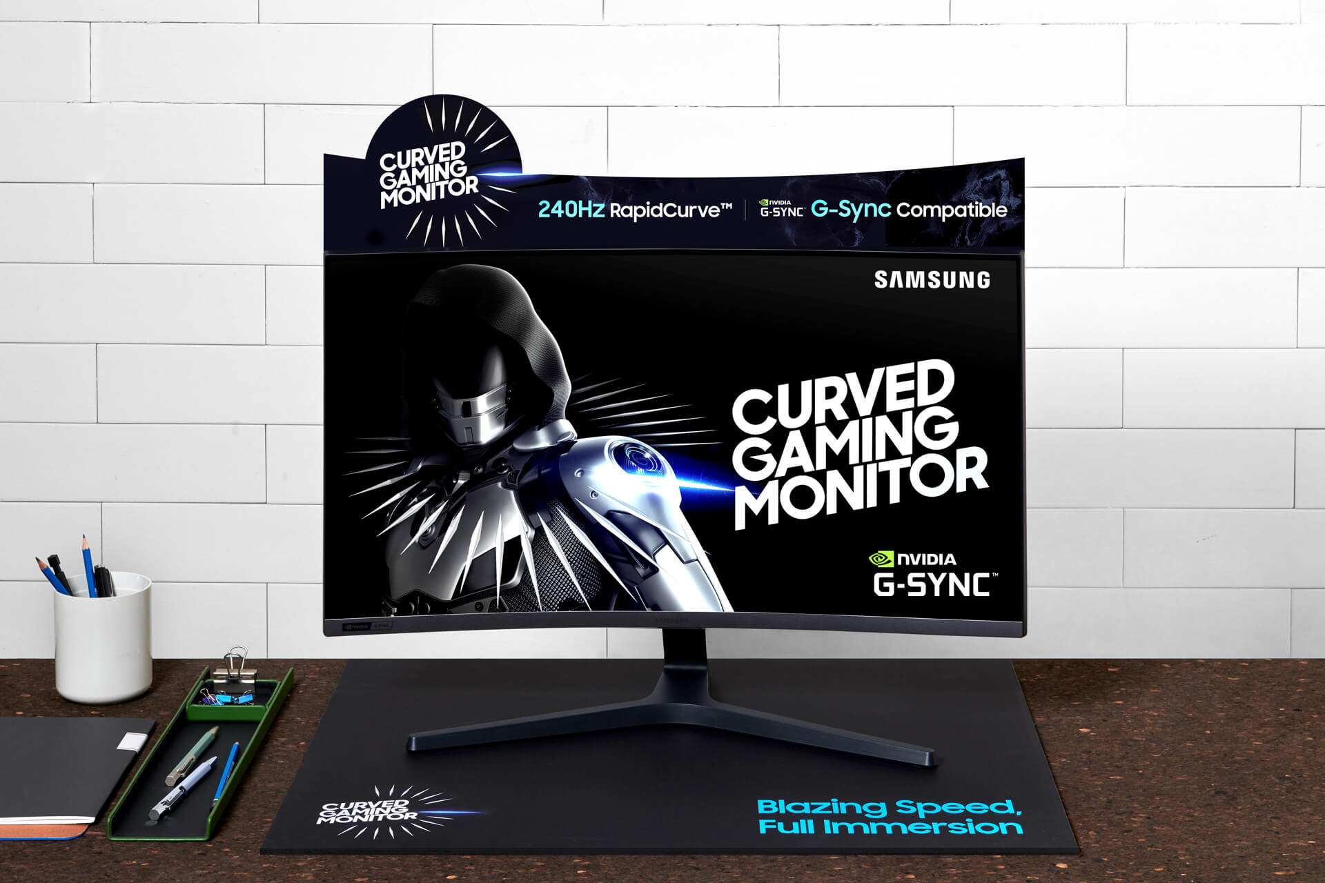 samsung crg5, Samsung Launches the CRG5, a 27-inch 240Hz Curved Gaming Monitor with G-Sync!, Gadget Pilipinas