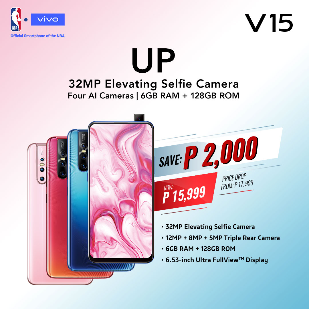 vivo v15, Vivo V15 Gets a Price Cut: Now Available for PhP15,999, Gadget Pilipinas