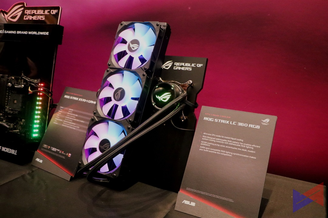 ASUS introduces ROG Strix LC 120/240/360 All-in-One CPU Cooler