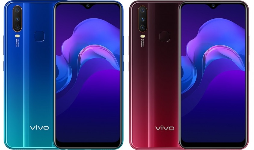Vivo Y12 Goes Official: A Trio of Cameras and a 5,000mAh Battery