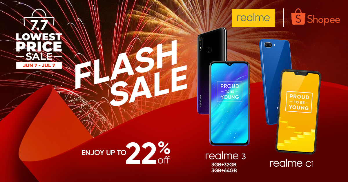 realme shopee, Get Up to 22% Off on Select Realme Smartphones in Shopee's 7.7 Sale!, Gadget Pilipinas