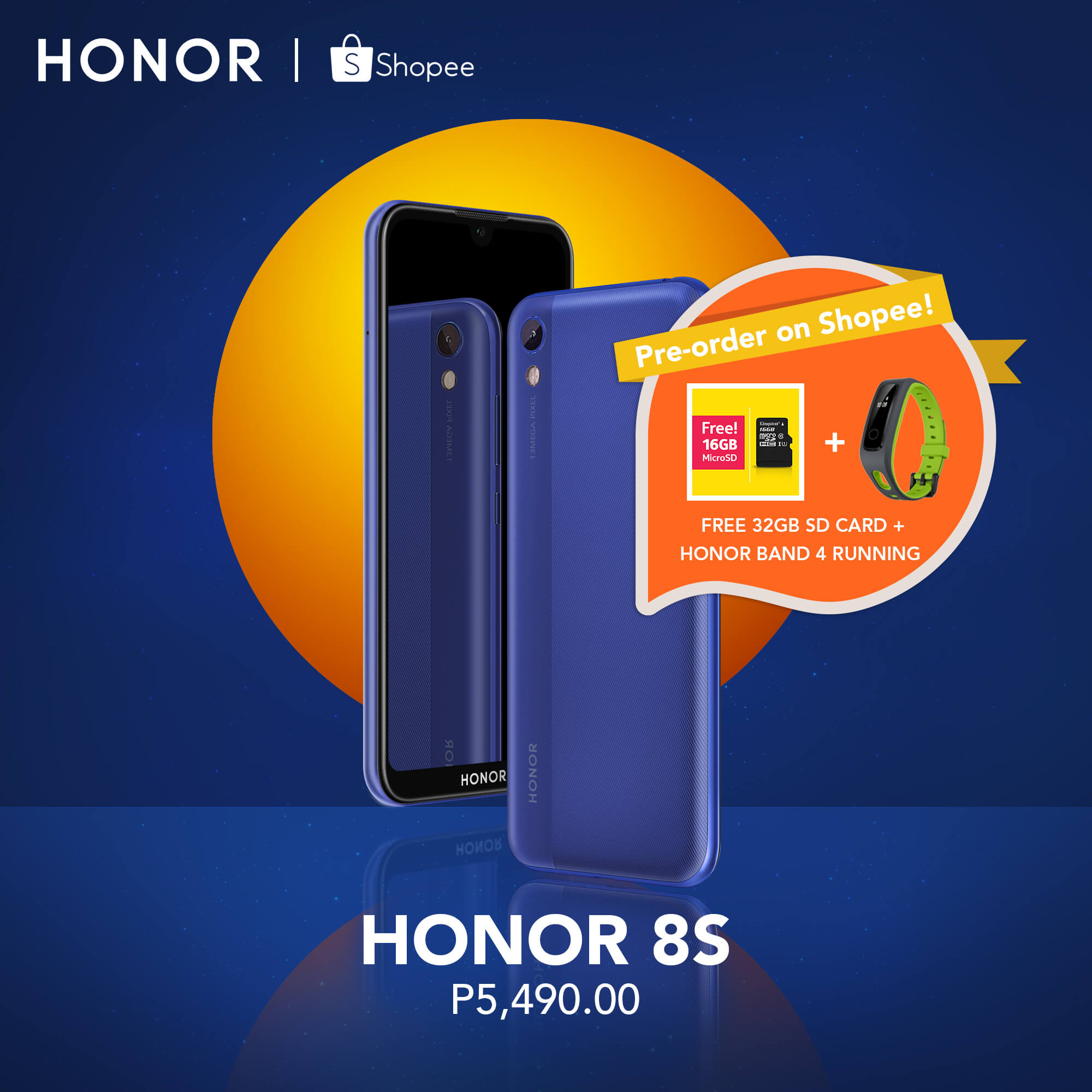 HONOR 8S, HONOR 8S Gets Priced, Pre-Order Starts on July 13!, Gadget Pilipinas
