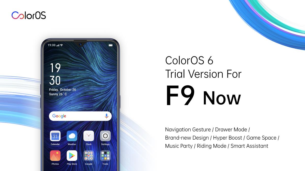 OPPO Announces Android Pie-Based ColorOS 6 Open Beta for