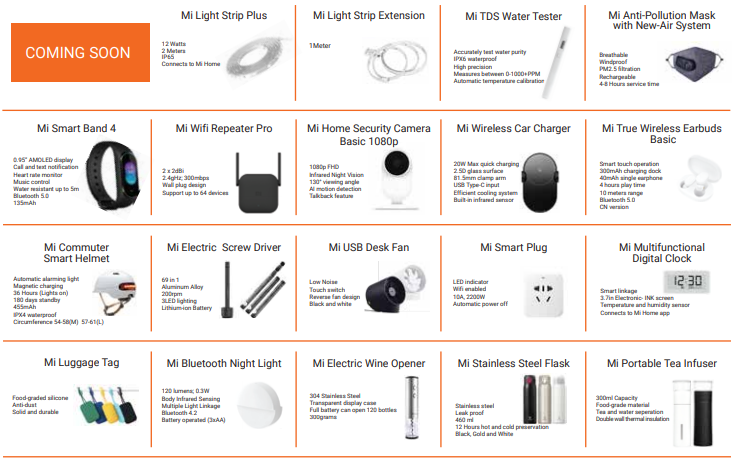 xiaomi, Xiaomi Teases Upcoming Products in its Latest Brochure!, Gadget Pilipinas, Gadget Pilipinas