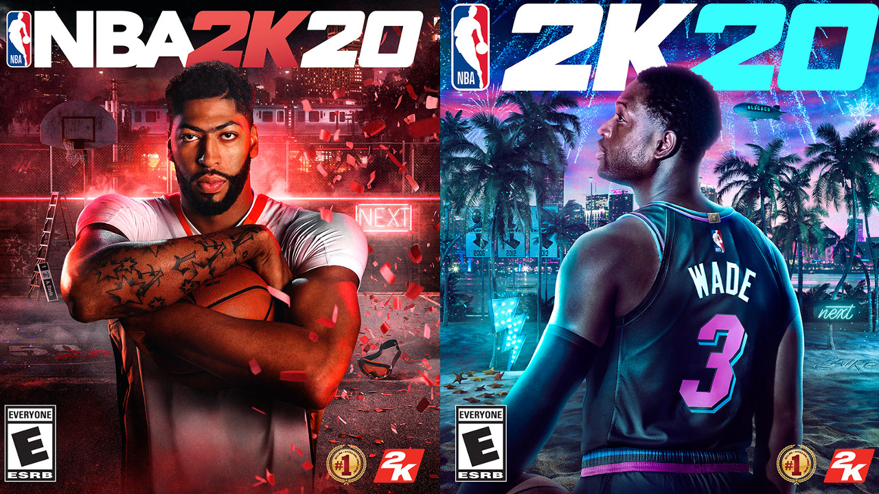nba 2k20 cover stars anthony davis and dwyane wade, Anthony Davis and Dwyane Wade Unveiled as Iconic Cover Stars for NBA 2K20, Gadget Pilipinas