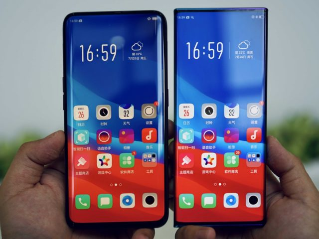 Oppo Waterfall screen, Oppo showcases 88-degree curved display – the Waterfall Screen, Gadget Pilipinas