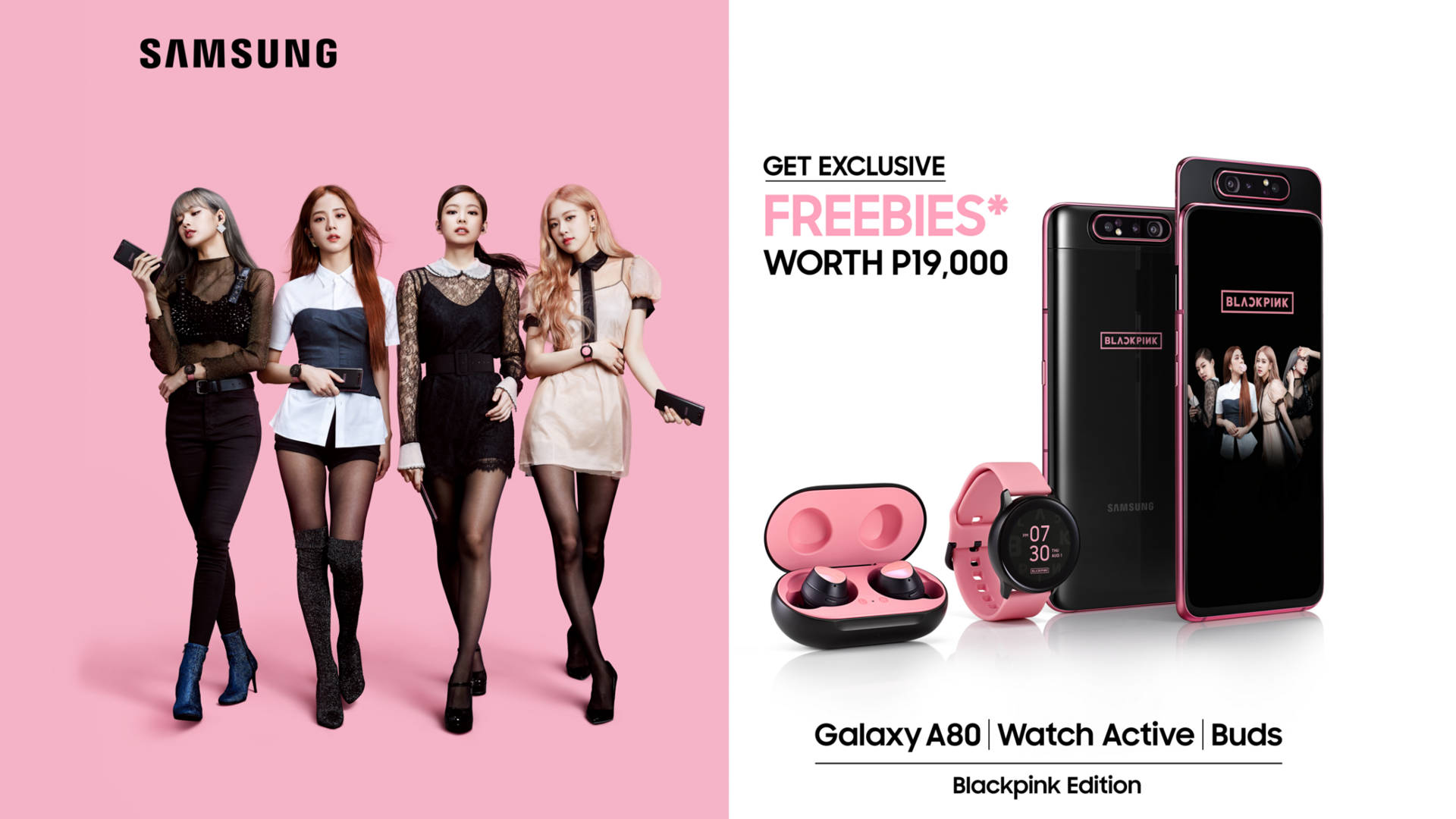 Galaxy A80 Blackpink, Samsung Galaxy A80 Blackpink Edition will be coming to the Philippines!, Gadget Pilipinas