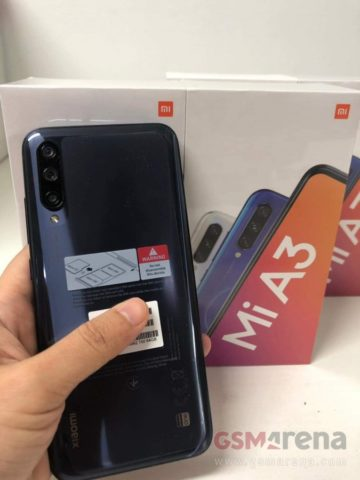 Xiaomi Mi A3 surface, Here's What the Retail Package of the Xiaomi Mi A3 May Look Like, Gadget Pilipinas